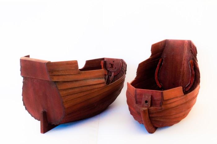Skrog til sjørøverbåter
