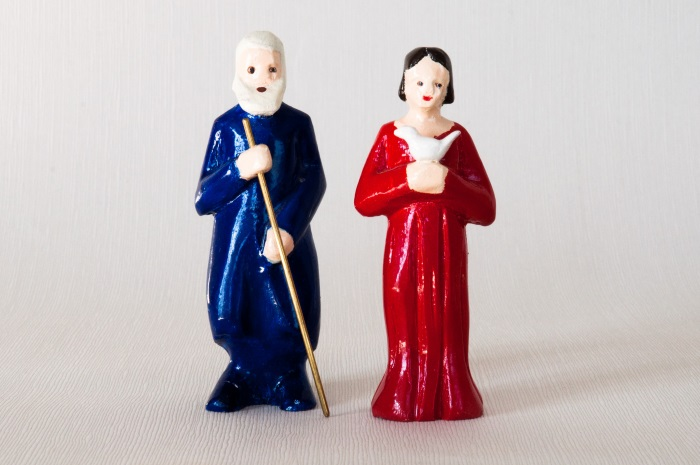 Noa og hans hustru fra Noas ark